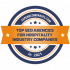 Top SEO Agencies for Hospitality Industry Companies in 2021 badge